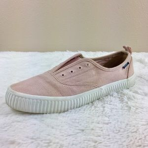 Sperry Pink Top Sider Memory Foam Slip On Sneakers